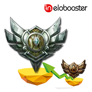 Bronze Rank to Silver Rank Elo Boosting of LoL DIVISION BOOST