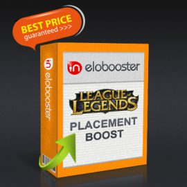LoL Placement Boost for Sale