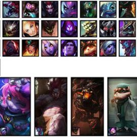 LoL Account EU WEST S7 Unranked Champions 49 Skins 8 Rune Pages 2 Blue Essence 460 RP 220