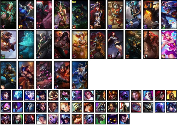 LoL Account NA S7 Unranked Champions 41 Skins 25 Rune Pages 2 essence 3226 RP 96