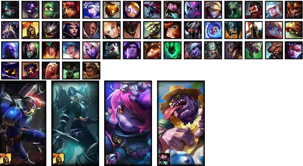LoL Account NA S7 Unranked Champions 50 Skins 4 Rune Pages 3 Blue Essence 3259 RP 65