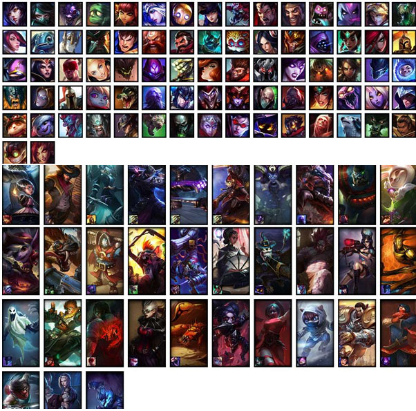 LoL Account NA S7 Unranked Champions 77Skins 33 Rune Pages 3 Blue Essence 1090 RP 184