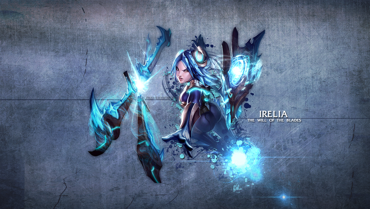 the will of the blades: Irelia cheap elo boost FROSTBLADE IRELIA